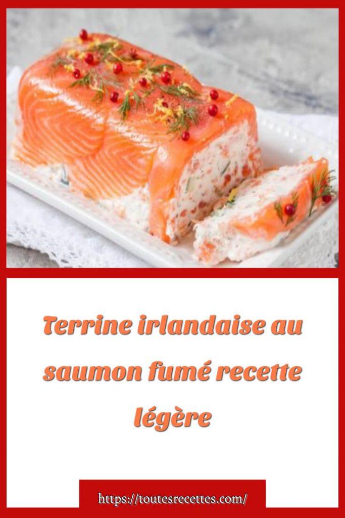 Comment préparer Terrine irlandaise au saumon fumé légère
