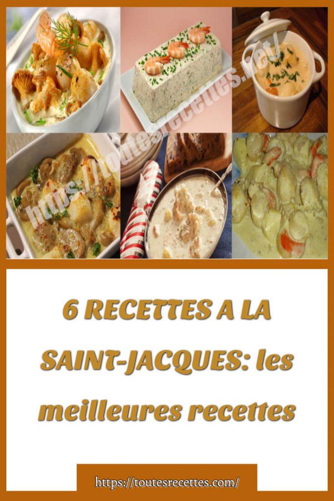 6 RECETTES A LA SAINT-JACQUES_ les meilleures recettes (1)