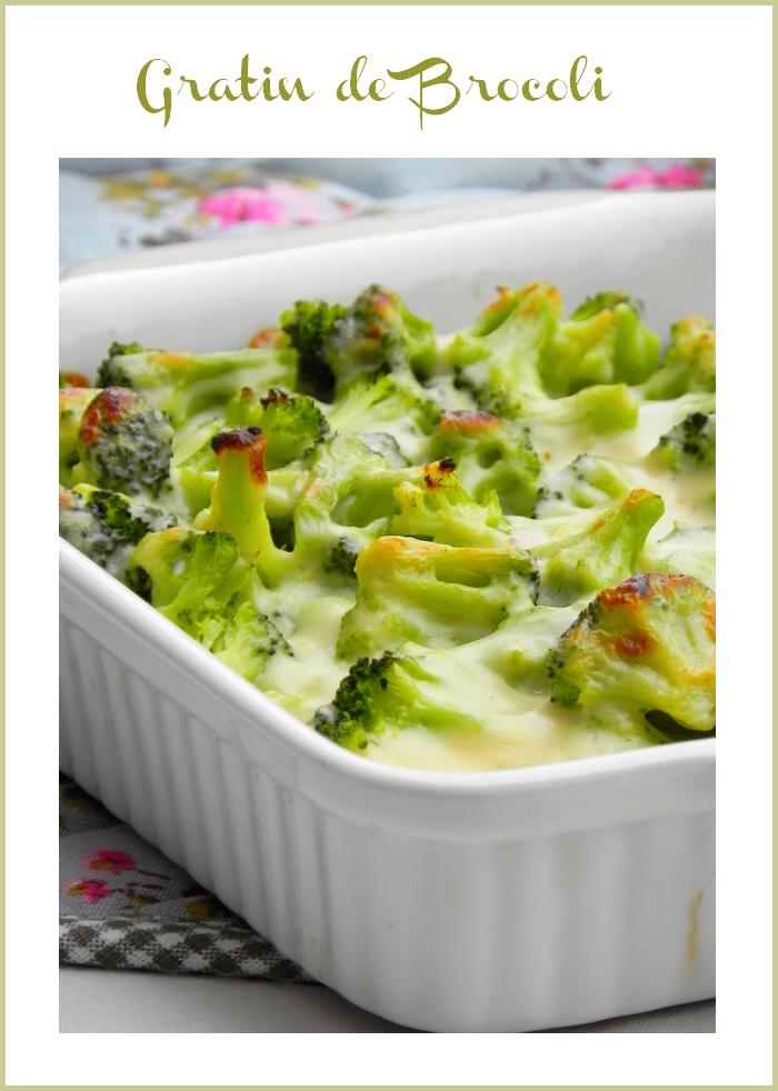 Comment préparer le Gratin de brocolis