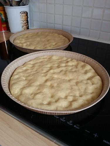 Comment préparer Focaccia (ou fougasse) aux lardons, romarin et parmesan etape 3
