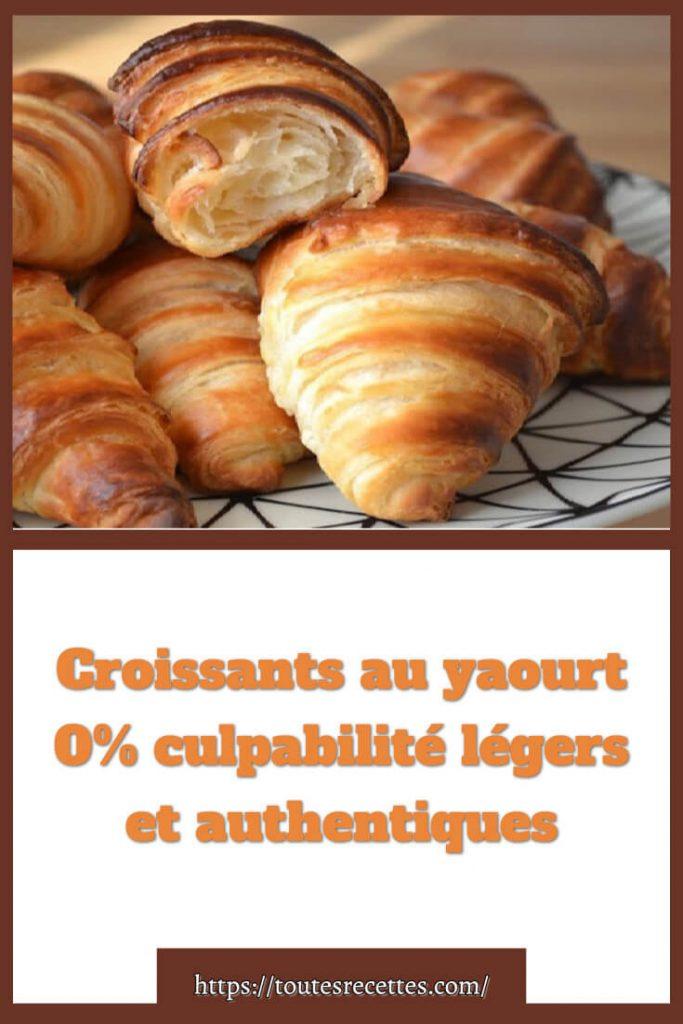 Comment préparer des Croissants au yaourt 0% culpabilité légers et authentiques