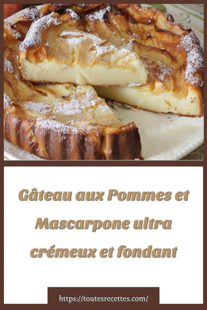 Comment préparer le Gâteau aux Pommes et Mascarpone