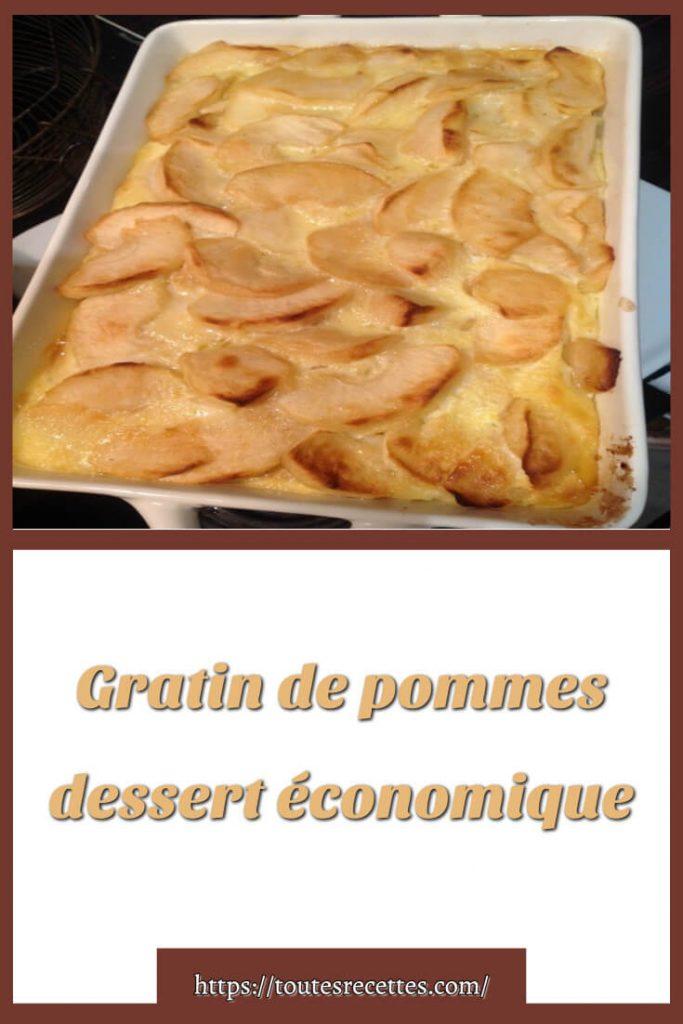 Comment préparer le Gratin de pommes