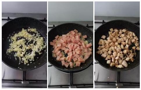 Comment préparer les Tagliatelles au poulet façon stroganoff etape 1
