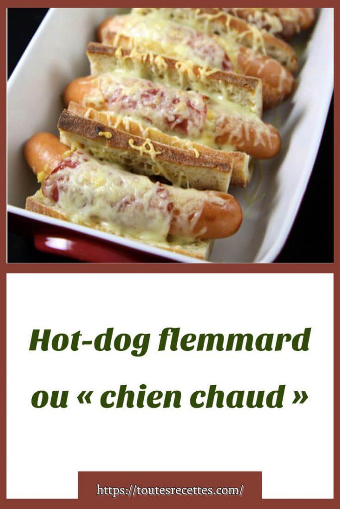 Comment préparer le Hot-dog flemmard ou « chien chaud »