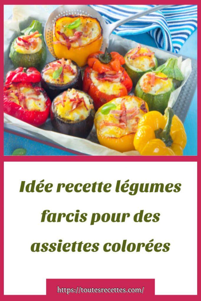Comment préparer les légumes farcis