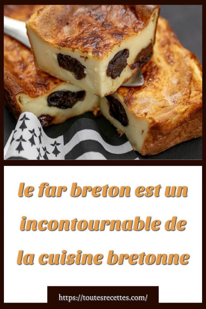 Comment préparer le far breton