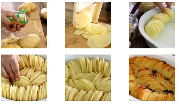 Comment préparer les Pommes de terre rôties croustillantes etapes