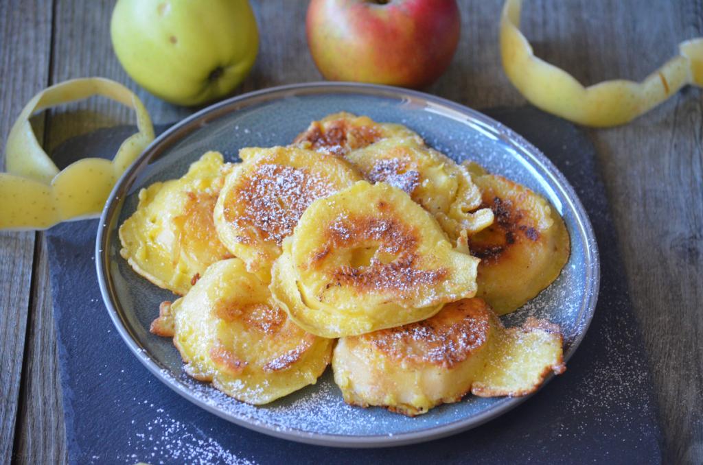 Comment préparer les Beignets de pommes à la poêle et sans friture etape 3