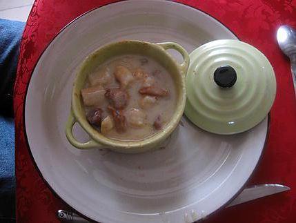 Comment préparer les Cassolettes aux crevettes, girolles et Saint-Jacques etape 6