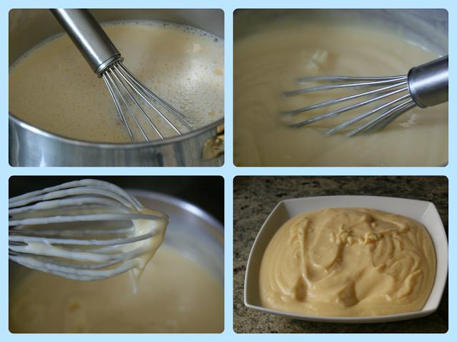 Comment préparer les Chaussons crème pâtissière et amandes etapes 1
