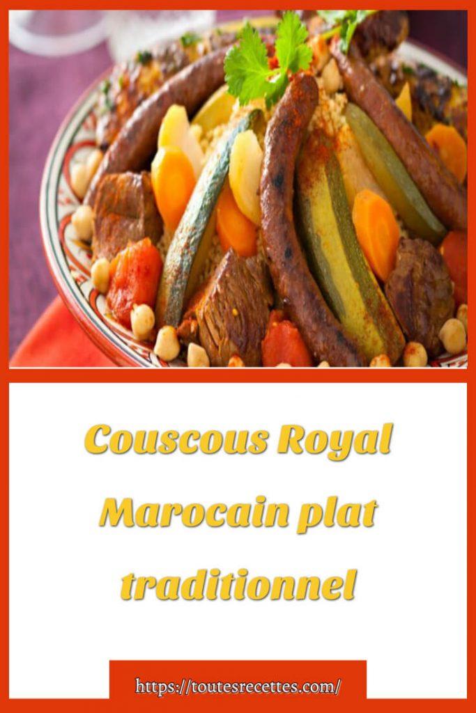 Comment préparer le Couscous Royal Marocain traditionnel