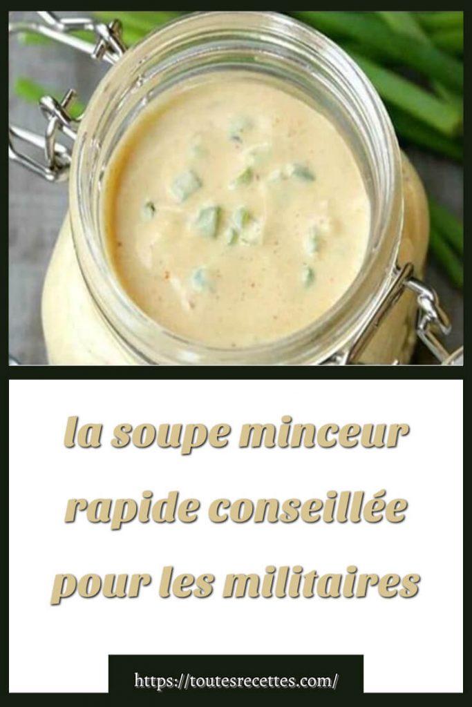 Comment préparer la soupe minceur rapide aux choux