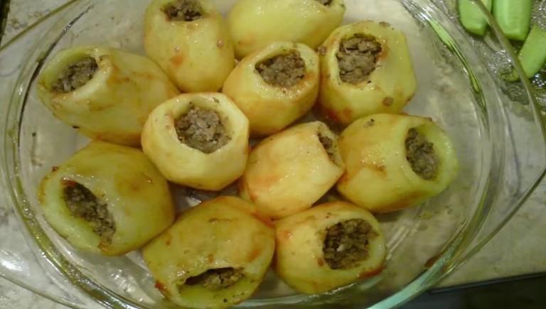 Comment préparer les Pommes de terre Farcies etape 2