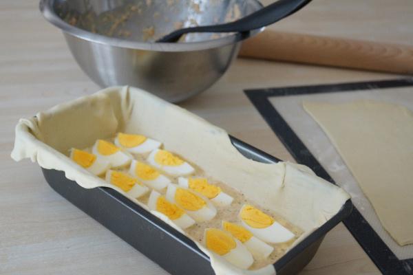 pâté de thon en croute etapes de préparation