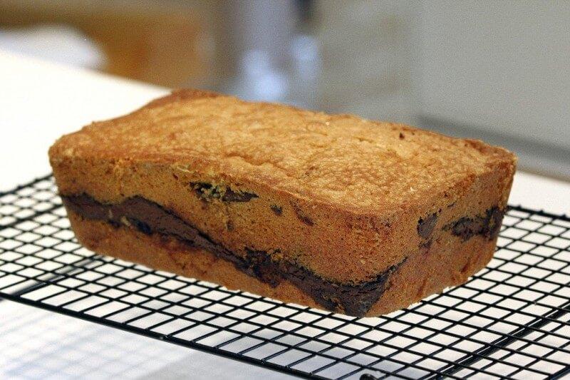 Comment préparer le Cake au Nutella etape 6