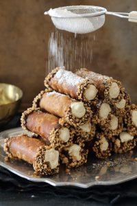 Comment préparer le Cannoli Sicilien mascarpone et noisettes etape 4