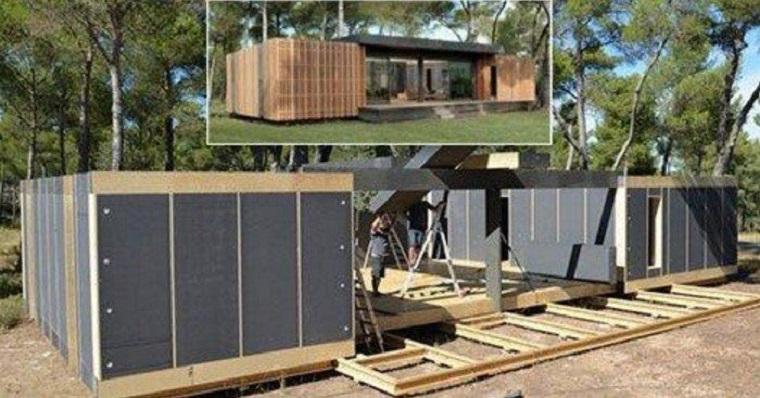 Une maison de 150 m² pour moins de 38 000€ et construite en 4 jours