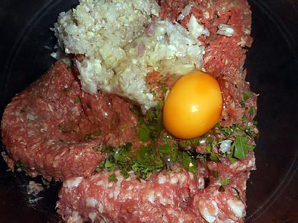 Comment préparer les Pommes de terre farcies à l auvergnate etape 2