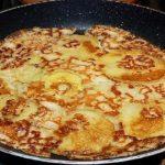 Meilleure Crêpe Alsacienne épaisse aux pommes (Apfelkiechle)