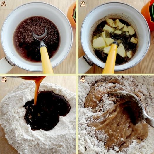 Comment préparer des Bonhommes pain d'épice etape 1