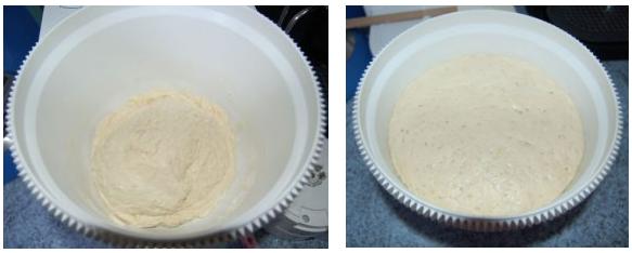 Comment préparer la Baguette Inratable fait maison etape 1