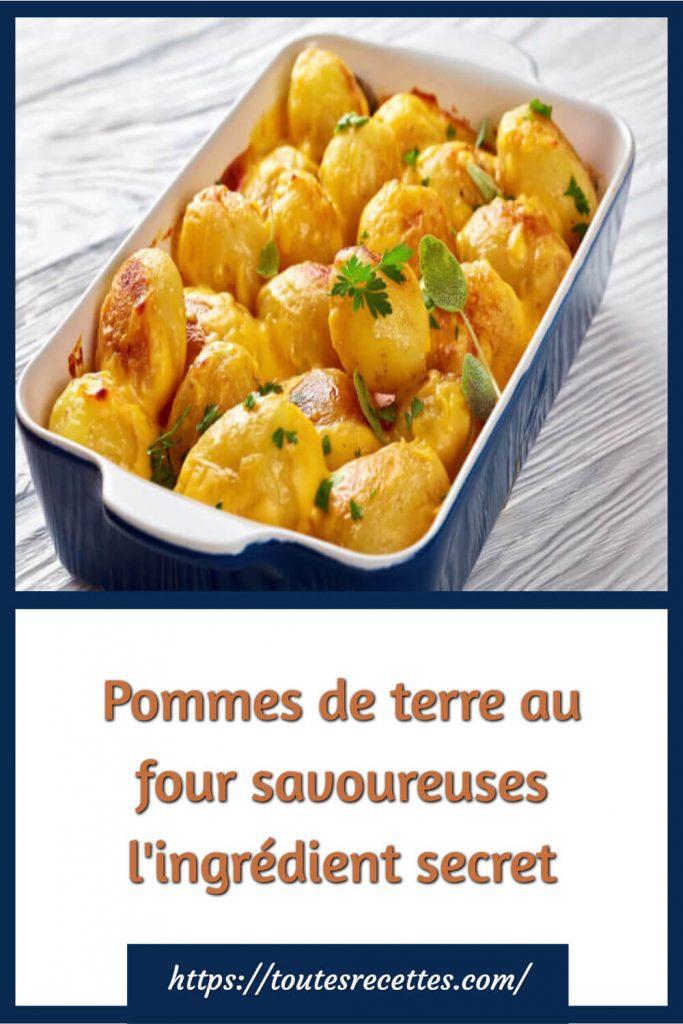 Comment préparer Pommes de terre au four