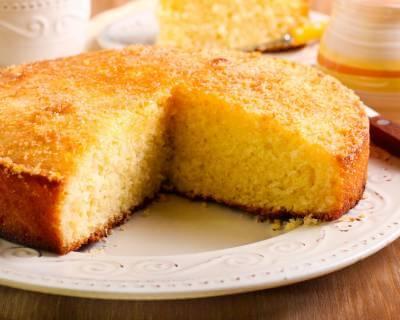 Gâteau de semoule de maïs au lait de coco